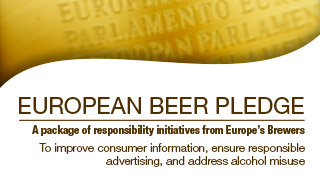 Europe's Brewers pledge increased action to combat alcohol misuse
